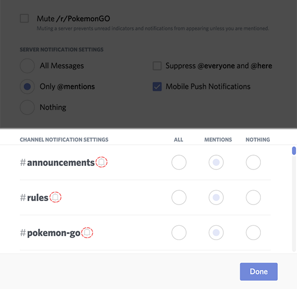 How do I mute and disable notifications for specific channels? – Discord